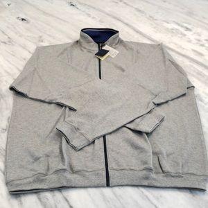 NWT - 2XL - Bobby Jones - Full Zip Sweater